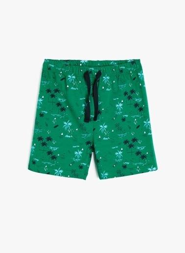 Koton Şort Yeşil